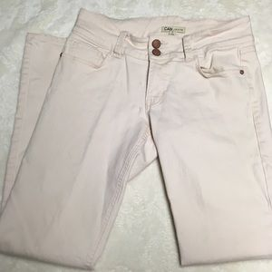 CAbi Pink Blush Lou Lou Jeans Size 6 for sale